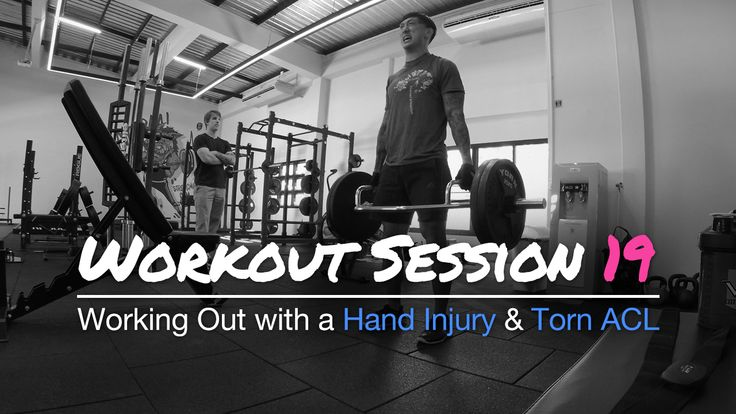 Working Out with a Hand Injury and Torn ACL - Workout Session 19: As for this workout, I have decided to try out my max for trap bar deadlift for the first time.