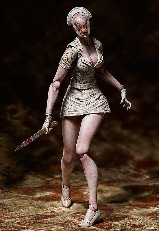 **Limited-time offer! Get FREE shipping worldwide on this pre-order item! The free shipping makes it a great buy! Now is your only chance!**    **Offer Ends: March 16, 2015.12:00(PDT)**     **Silent Hill's demon in a nurse outfit, joining the figma series!**    From the highly acclaimed horror game 'SILENT HILL 2' comes a figma of the Bubble Head Nurse - the sinister monster with an oddly se...