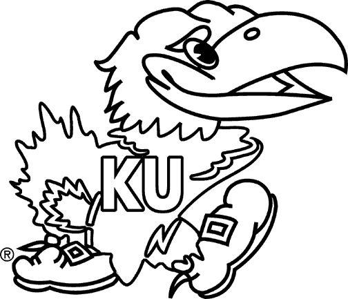 Kansas Jayhawks Stencil