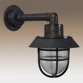 Docklight Muurlamp Black