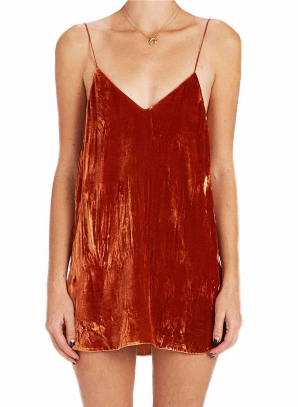 Just In Marni Velvet Deep... Shop Now! http://www.shopelettra.com/products/marni-velvet-deep-v-slip-dress?utm_campaign=social_autopilot&utm_source=pin&utm_medium=pin