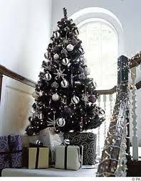 black and silver christmas - Google Search