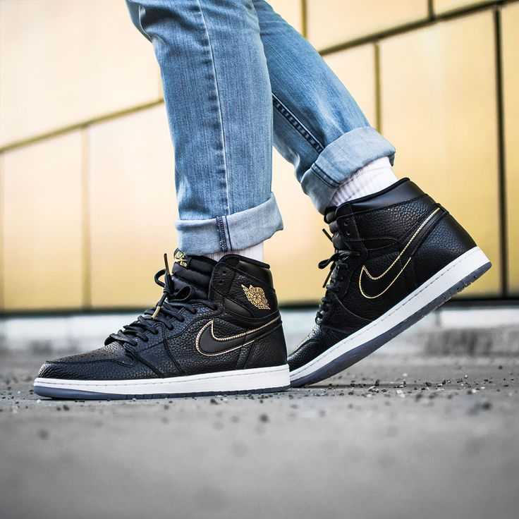 Jordan Brand pays tribute to Los Angeles with the Air Jordan 1 'City of  Flight'  The luxurious sneaker comes in black tumbled leather with golden  accents on