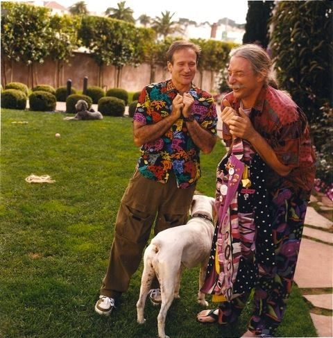 Patch Adams and Robin Williams