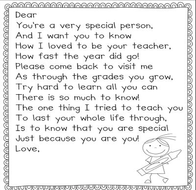 Free end of the year poem