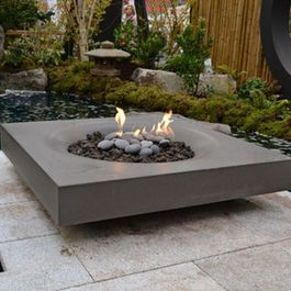 Contemporary Fire Pit...Love!