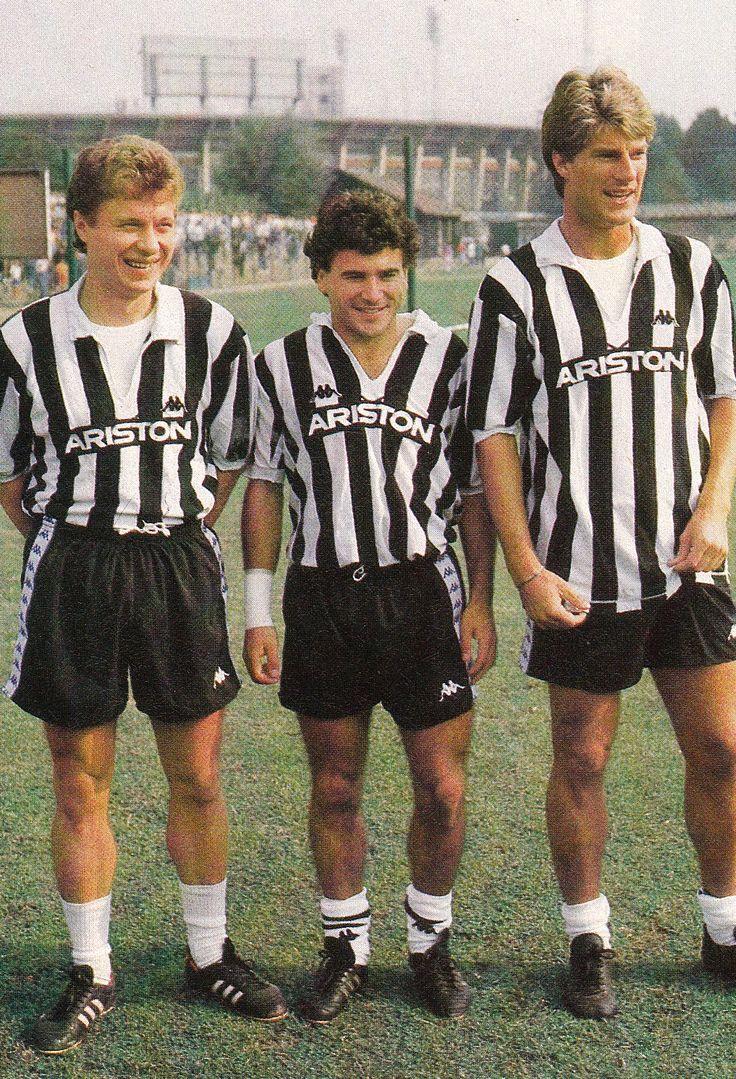 Alexander Zavarov, Rui Barros et Michael Laudrup