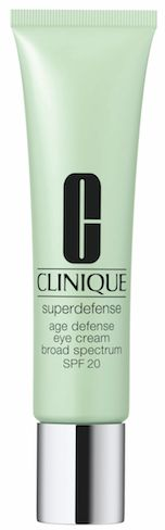 Clinique Superdefense SPF 20 Age Defense Eye Cream...love an eye cream with SPF. One of my Top 10 favorites!