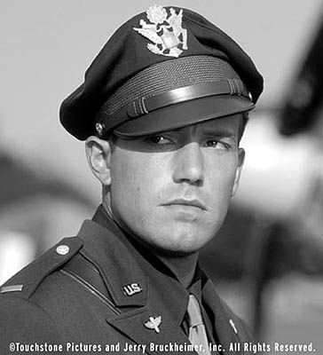 Ben Affleck...Pearl Harbor is quite literally the best movie i have ever seen. I just love him and Danny