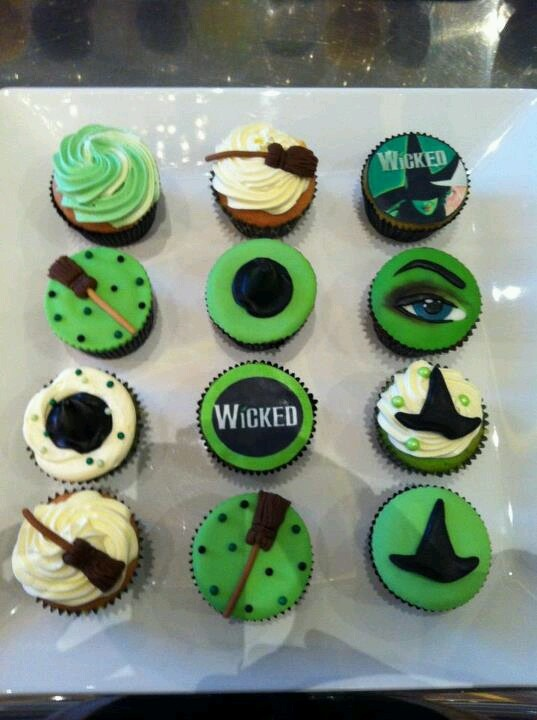 Love these Wicked cupcakes!!