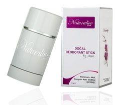 Naturalive Doğal Deodorant Stick - Doğal içerikleriyle ter kokusunu önlemede başarılı bir formül.
