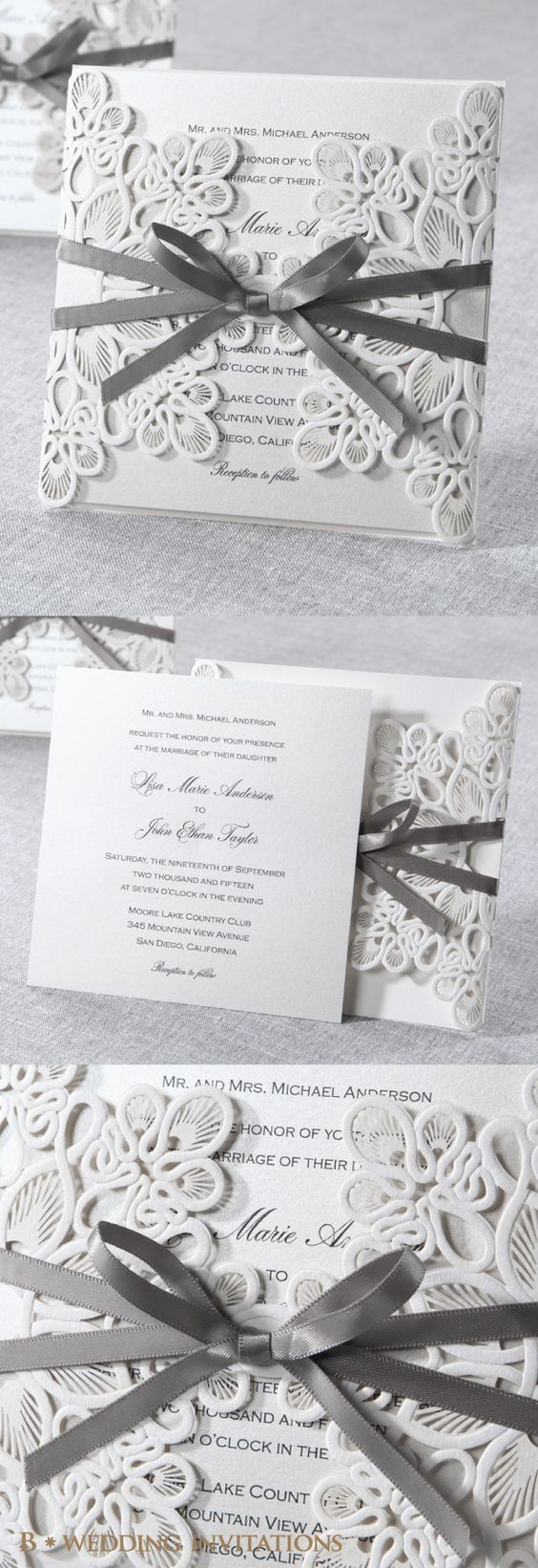 32 Best Wedding Invitations Images On Pinterest Wedding Cards