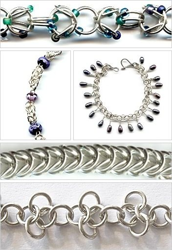 Making Chains/Chain Maille - Jewelry Making Beads, Wire, Beaded
