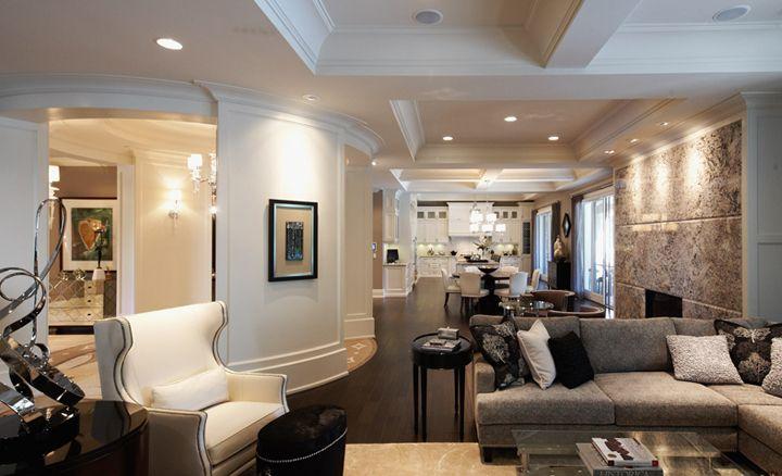 Interior Design Flora Di Menna Designs Inc House Pictures Custom Built Homes Home New Homes