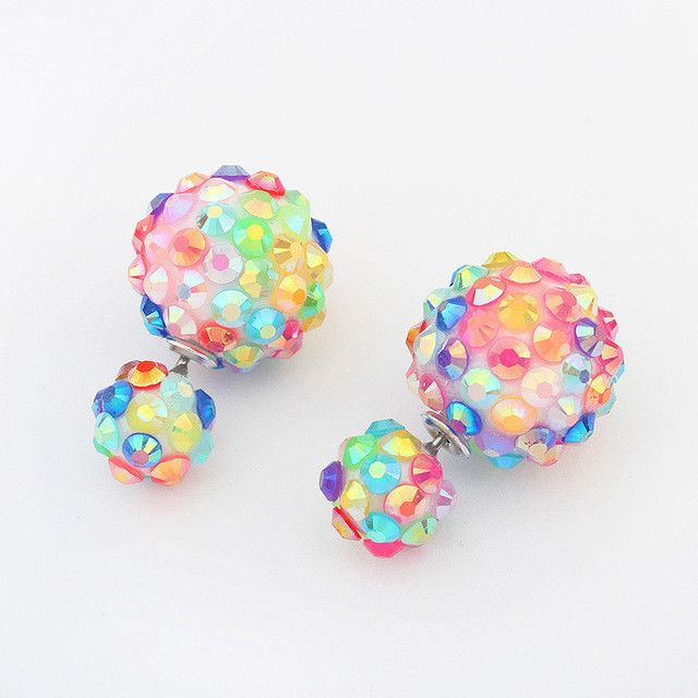 Korean Style Pop Flower Party Earrings