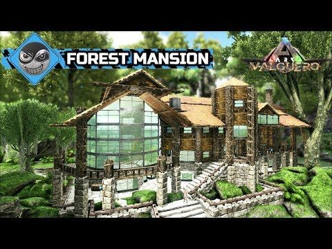 Ark Survival Evolved Large House Build Forest Mansion Base Design Speed Build Youtube In 2020 Ark Survival Evolved Bases Ark Survival Evolved Mansions