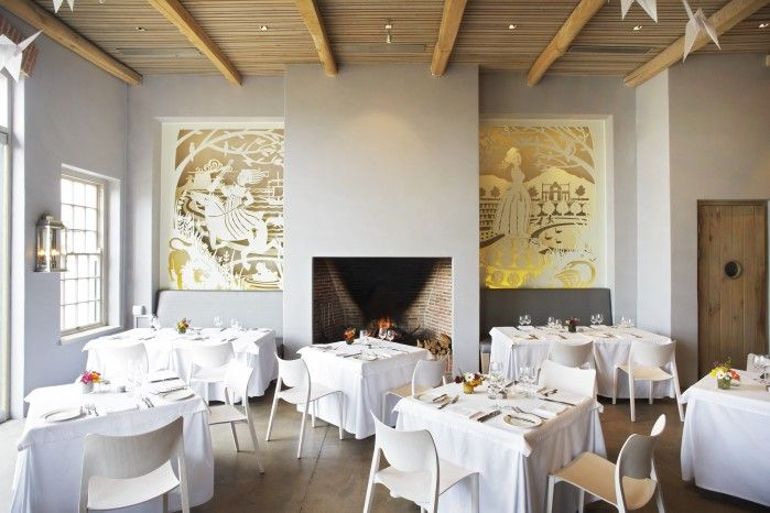 Catharina's Restaurant at Steenberg, Constantia