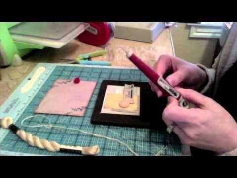 Using buttons on cardsScrapbook Cards, Cards Ideas, Cards Scrapbook, Cricut Tutorials, Cards Techniques, Cards Crafts, Cards Tutorials, Paper Crafts, Scrapbooking Pap Crafts