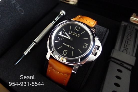 Panerai 111 Luminor Marina Manual Wind 44mm Stainless Steel  http://www.collectionoftime.com/specification.php?wid=196=16