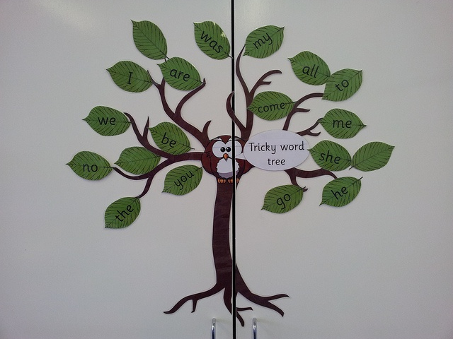 Tricky Word Tree