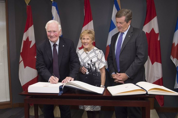 """John Tory on Twitter: """"@GGJuliePayette @InvictusToronto I want to thank David Johnston for his service to Canada as Canada's 28th Governor General. He has served our country with dignity & compass… https://t.co/wcANhtqyAJ"""""""