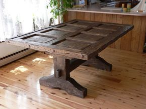 Dining Room Traditional Rustic Dining Room Tables With Rectangle Table Top Like Wood Door Above Rustic Wood Floor The Desirable Rustic Dining Room Tables
