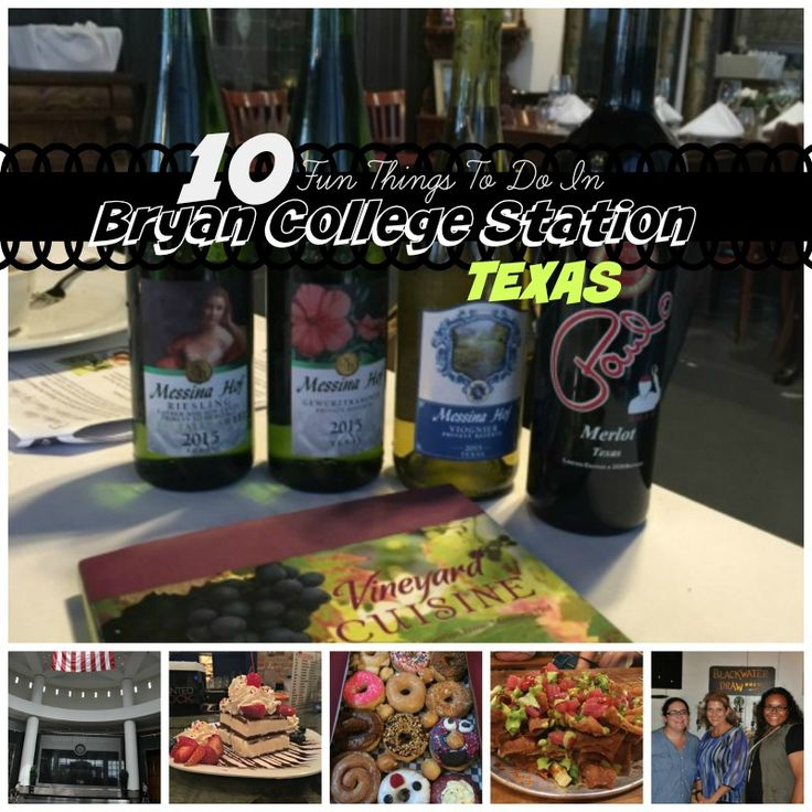 10 Fun Things To Do in Bryan College Station, Texas