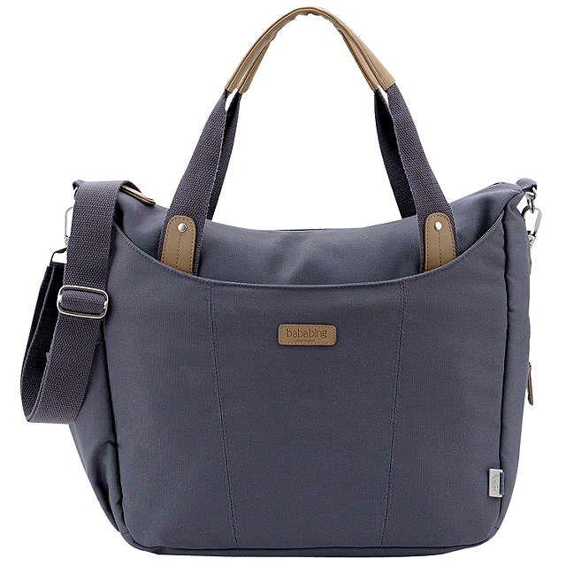 BuyBababing Roma Changing Bag, Grey Online at johnlewis.com