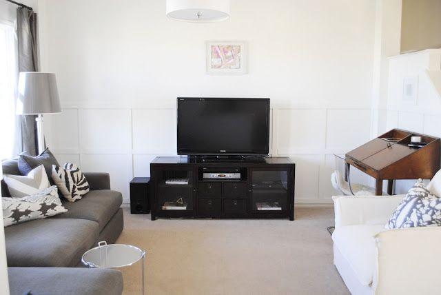 Grey & beige living room
