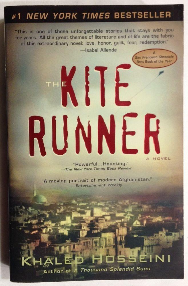 The Kite Runner by Khaled Hosseini (2003, Paperback) Kabul Afghanistan / Male Fr