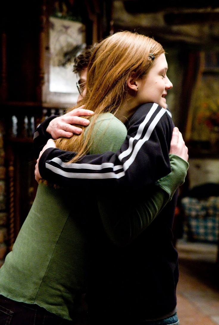 Harry and Ginny. Aww