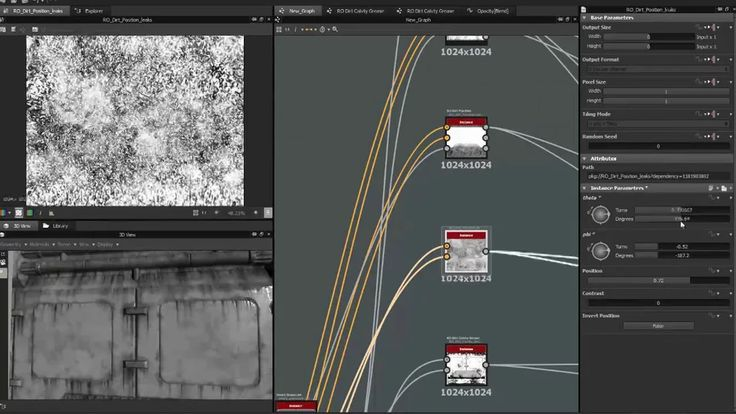 Substance Designer Dirt masks on Vimeo