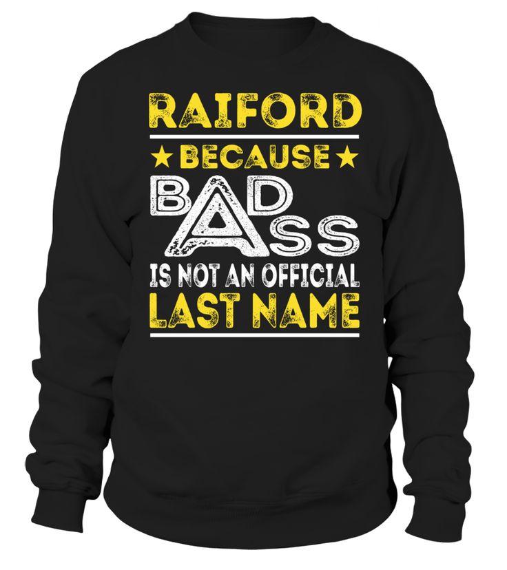RAIFORD - Badass #Raiford