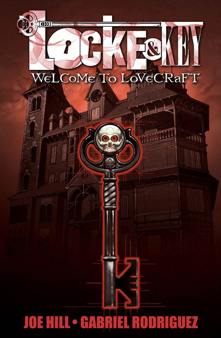 Locke & Key - Joe Hill & Gabriel Rodriguez. Fantastic series, so imaginative and engaging.