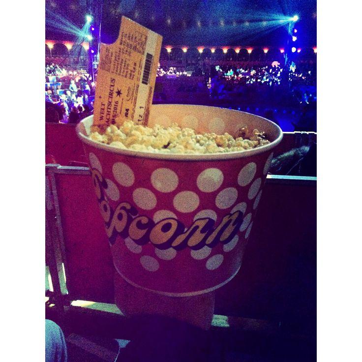 Weltweihnachtszirkus #popcorn