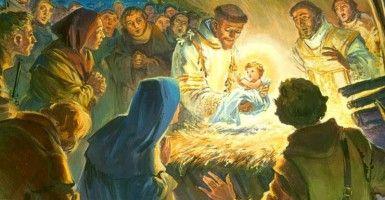 Wanneer u uw kerststal elke winter instelt, mag je niet realiseren dat u aan een traditie van Kerstmis begonnen door een van de meest beroemde en geliefde katholieke heiligen bijna 800 jaar geleden deelneemt. Luister naar het verhaal hier.