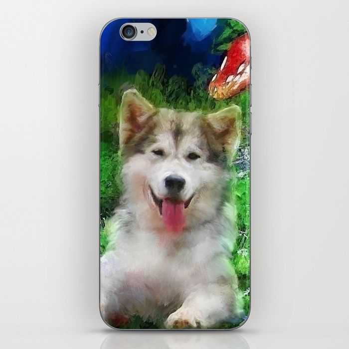 Buy Alaskan Malamute Iphone Skin By Winterwinds Worldwide