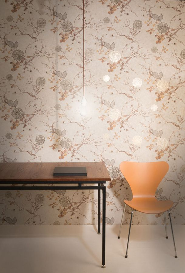 Mankai Collection - Fabric Wallpaper Australia / The Ivory Tower