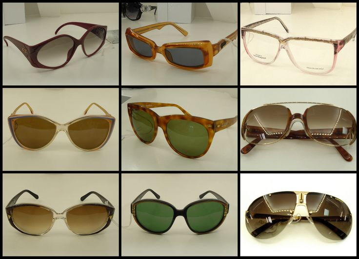 Per tutti gli amanti del vintage e delle linee anni 80-90, al Emporio Occhiali Fardin troverete l'occhiale giusto per voi...