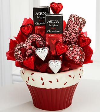 Sweets in Bloom® Chocolate Romance Valentine's Day Bouquet