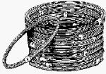 Hillman Fasteners 50' #9 Alu Clothesline (Pack Of 12) 1 Wire Clothesline by Hillman Fasteners. $10.00. 50', #9, Blue Coated Aluminum Clothesline Wire, 12 Connected.. Save 94%!