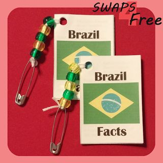 SWAPS4Free: Brazil Fact Book World Thinking Day Girl Scout SWAPS - Free Printable!
