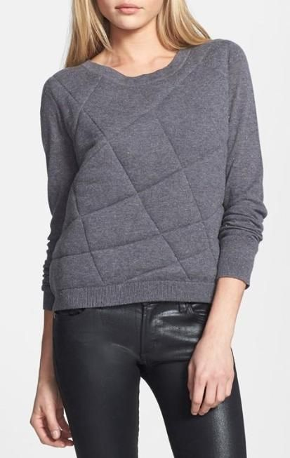Cute! Quilted Pullover