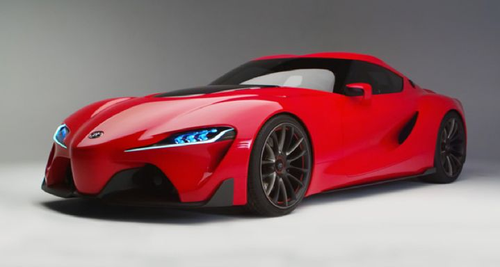 2015 Toyota Supra Concept Car. Check out Toyota's 2015 vehicle line up, some of which will be displayed at the 2015 Calgary International Auto & Truck Showcase  For more information visit us online at: www.autoshowcalgary.com