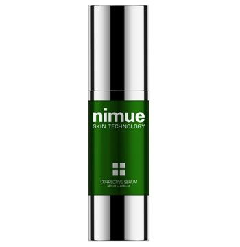 Corrective Serum. A multi functional intensive serum in a cream concentrate for the specialised treatment of problematic skin in adults. A Seboregulating Complex and Salicylic Acid aim to combat the causes and restore the balance of oily, acne prone skin,and are captured in a nanotechnology delivery system. 30ml. Nimue Skin Technology.