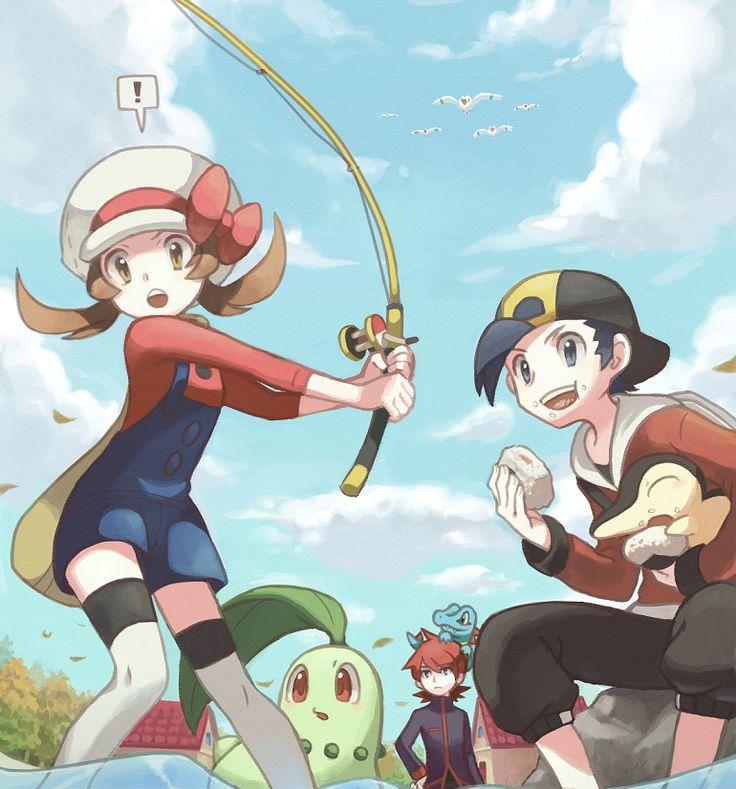 Landed a Pokemon! by ~KIRU75 on deviantART