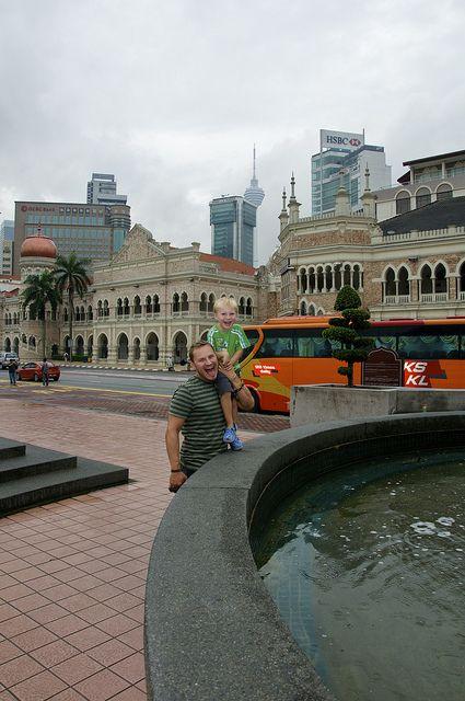 Merdeka Square- Kuala Lumpur (Malaysia) by AroundtheWorldwithKid, via Flickr