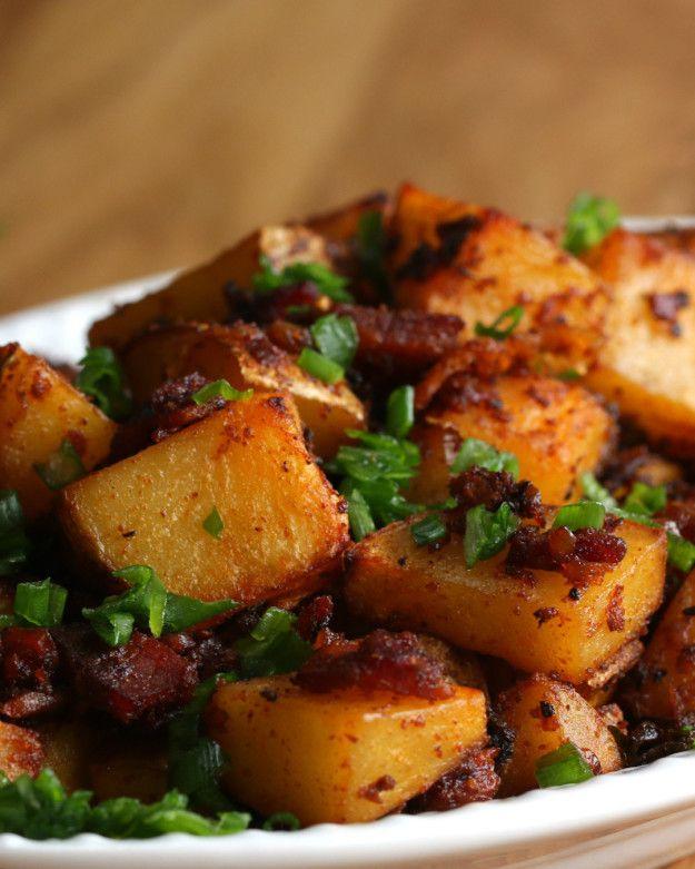 Loaded Breakfast Potatoes | Weekend Brunch for Two