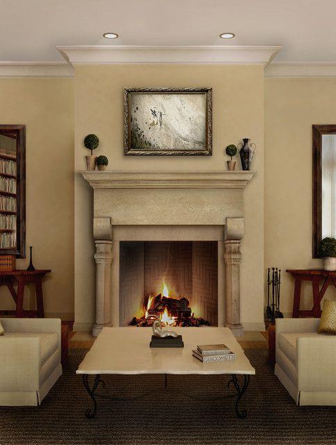 marvellous grand living room fireplace | Captivating Fireplace Mantel Designs Enhancing Living Room ...