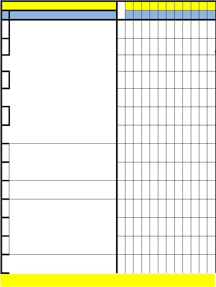 Cronograma De Actividades Formato Blanco Folleto 1